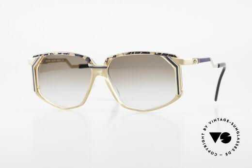 Cazal 346 Hip Hop Designer Sunglasses Details