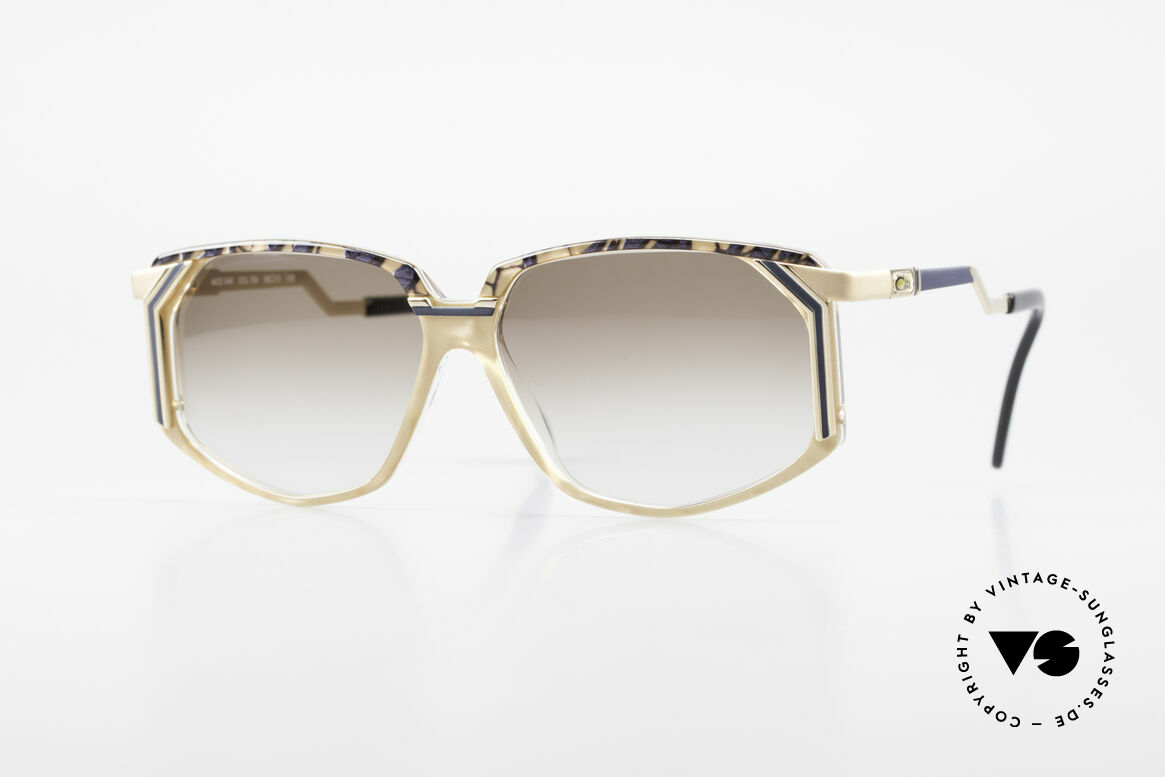 Cazal 346 Hip Hop Designer Sunglasses, creative eyewear design by CAZAL (from app. 1990), Made for Men and Women