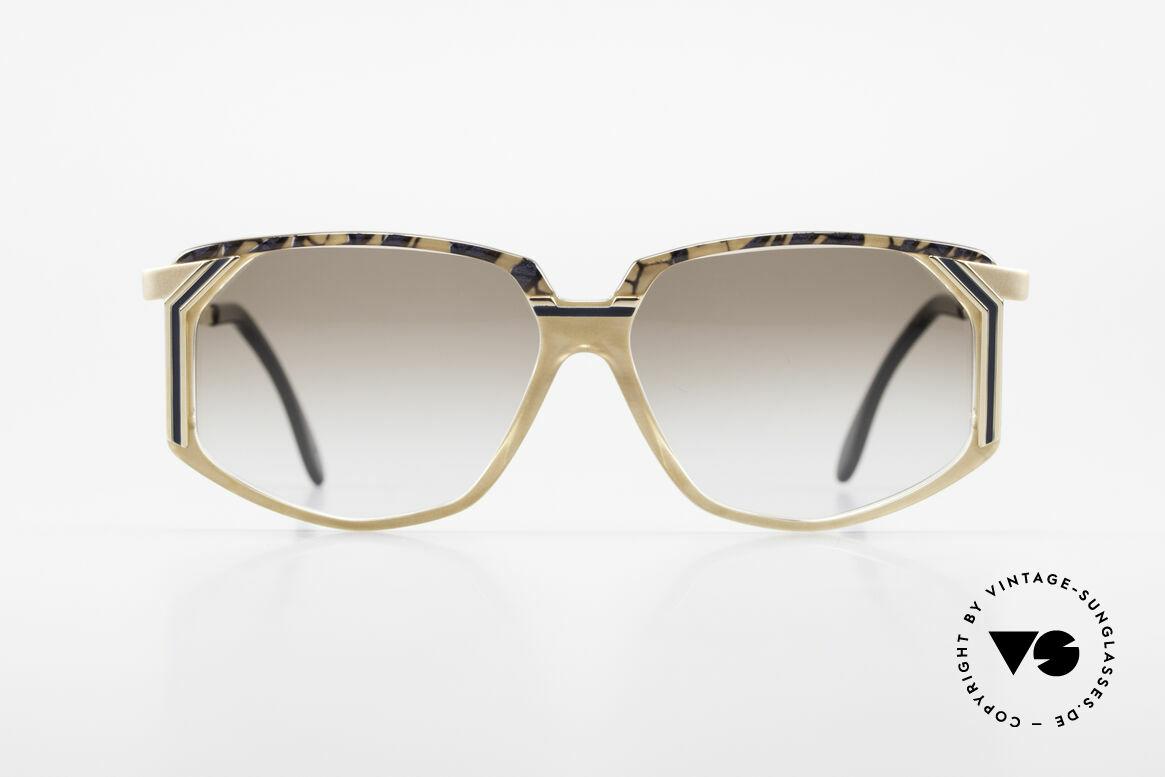 Cazal 346 Hip Hop Designer Sunglasses, striking frame construction = distinctive 90's CAZAL, Made for Men and Women