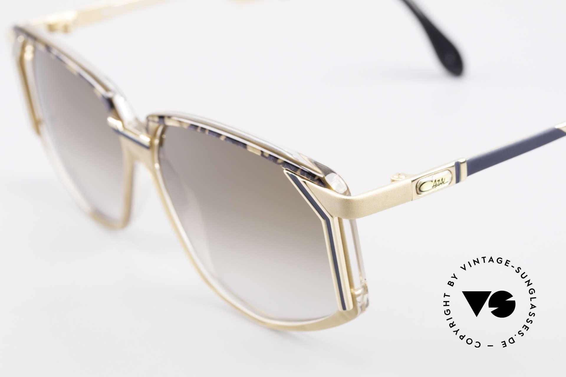 Cazal 346 Hip Hop Designer Sunglasses, NO retro shades, but an old original - true vintage!, Made for Men and Women