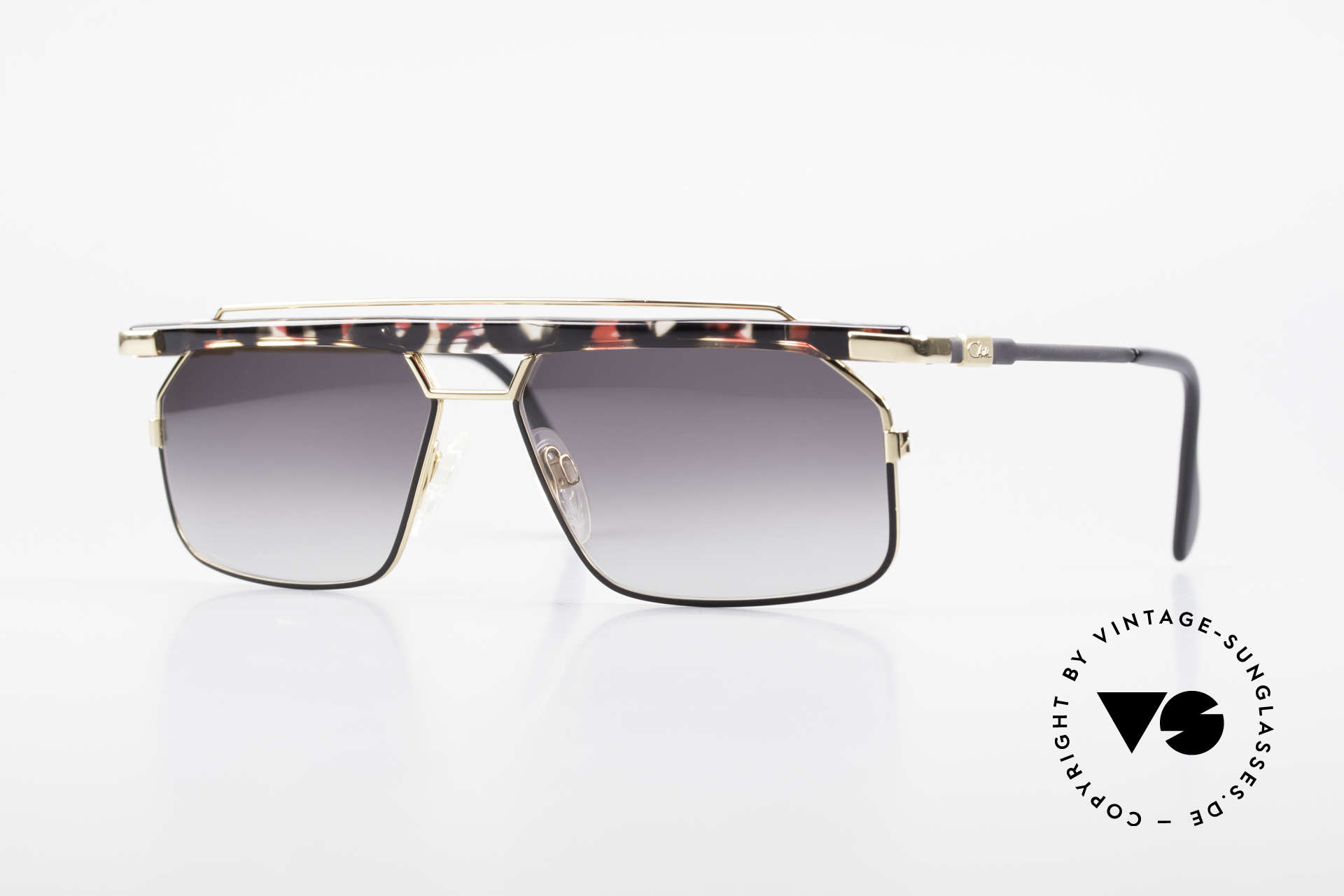 Cazal 752 Ultra Rare Vintage Sunglasses, extraordinary & striking Cazal shades from 1993, Made for Men