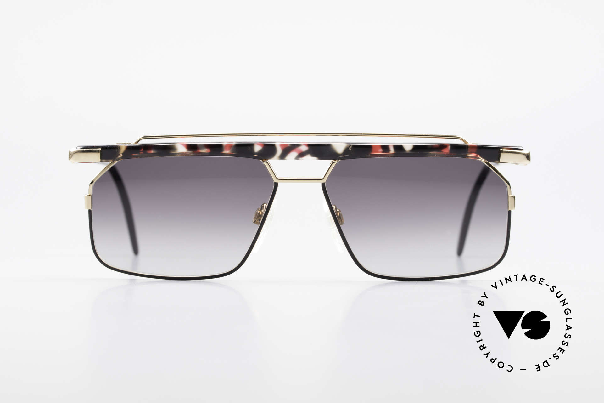 Cazal 752 Ultra Rare Vintage Sunglasses, one of the last models designed by CAri ZALloni, Made for Men