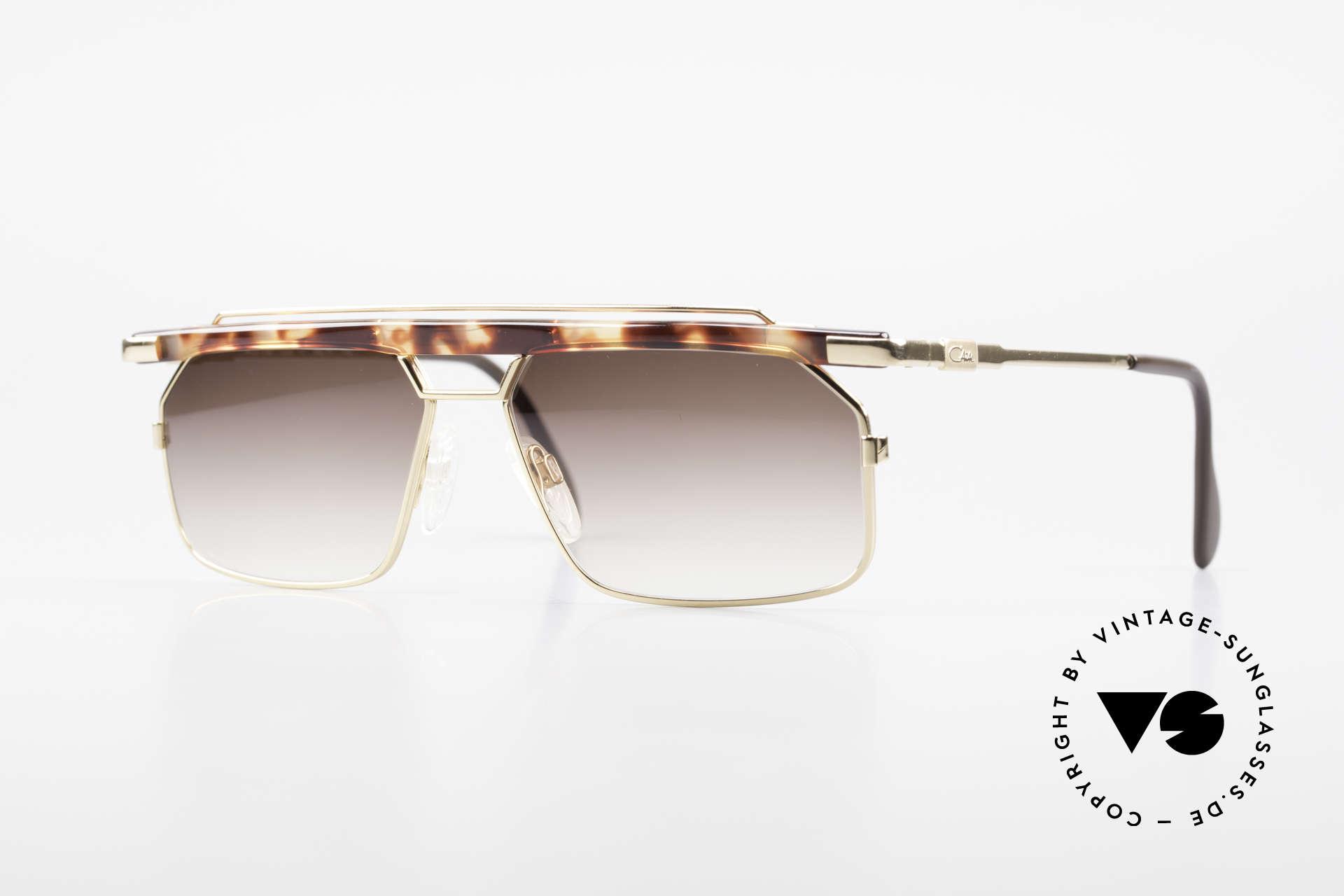 Cazal 752 Ultra Rare Vintage Shades 90's, extraordinary & striking Cazal shades from 1993, Made for Men