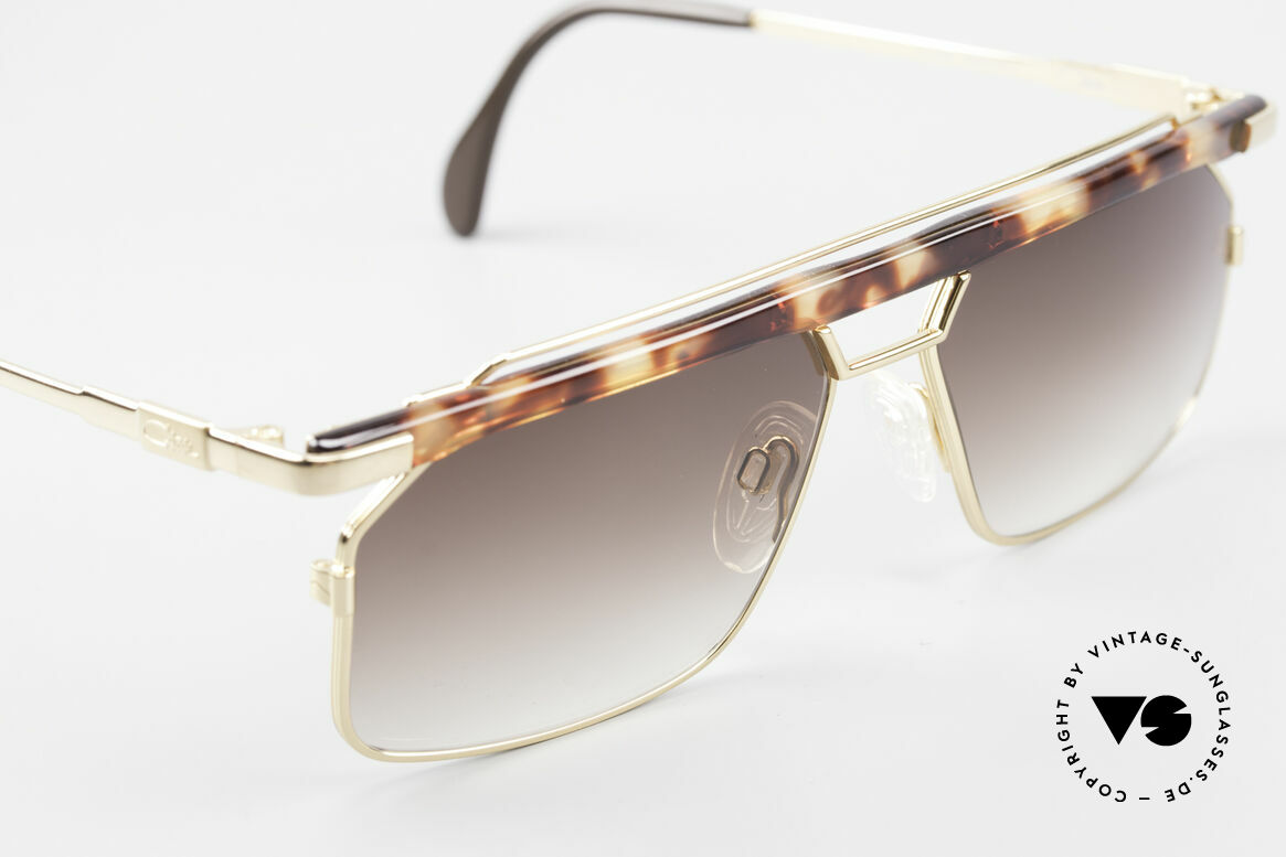 "Cazal 752 Ultra Rare Vintage Shades 90's, true eye-catcher in color: ""havana demi blond"", Made for Men"