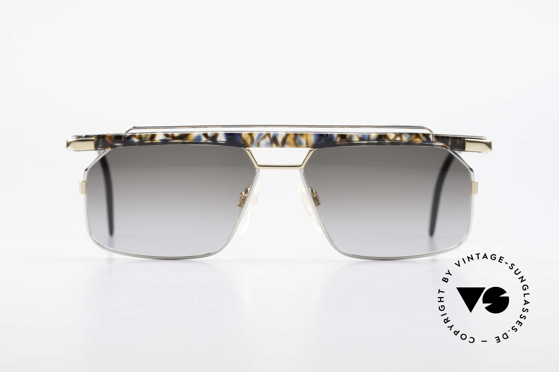 Cazal 752 Extraordinary Vintage Shades, one of the last models designed by CAri ZALloni, Made for Men