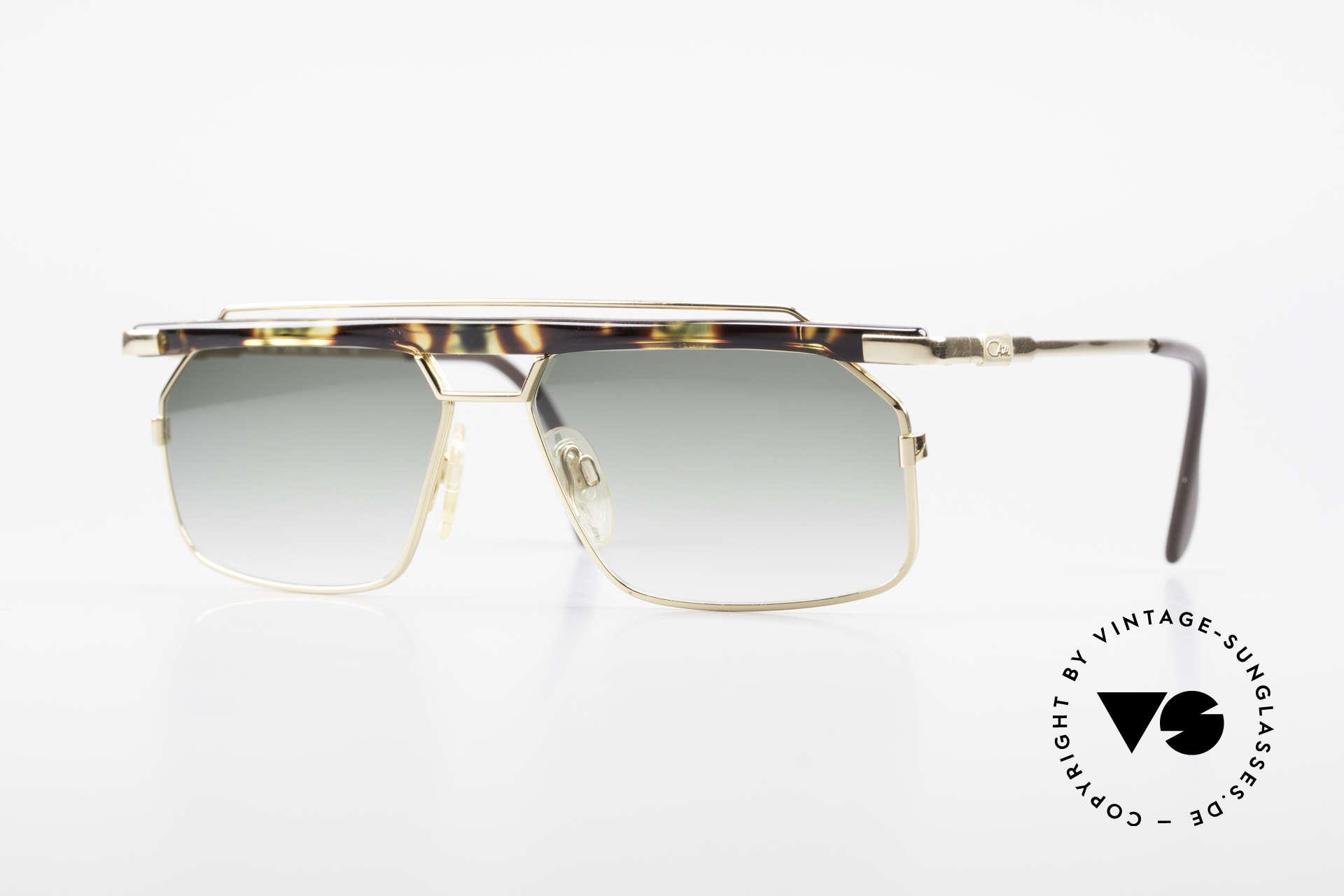 Cazal 752 Extraordinary Sunglasses 90's, extraordinary & striking Cazal shades from 1993, Made for Men