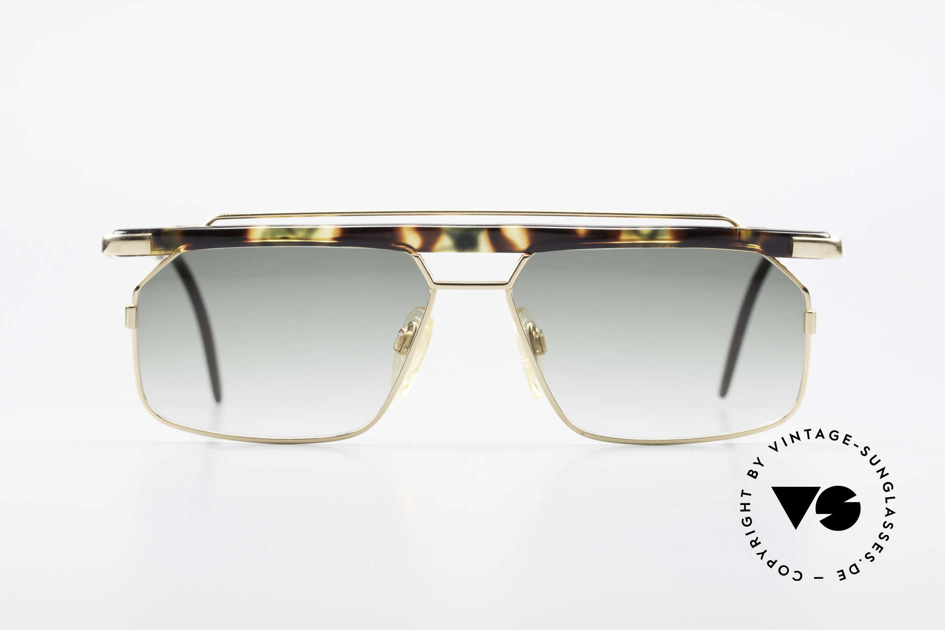 Cazal 752 Extraordinary Sunglasses 90's, one of the last models designed by CAri ZALloni, Made for Men