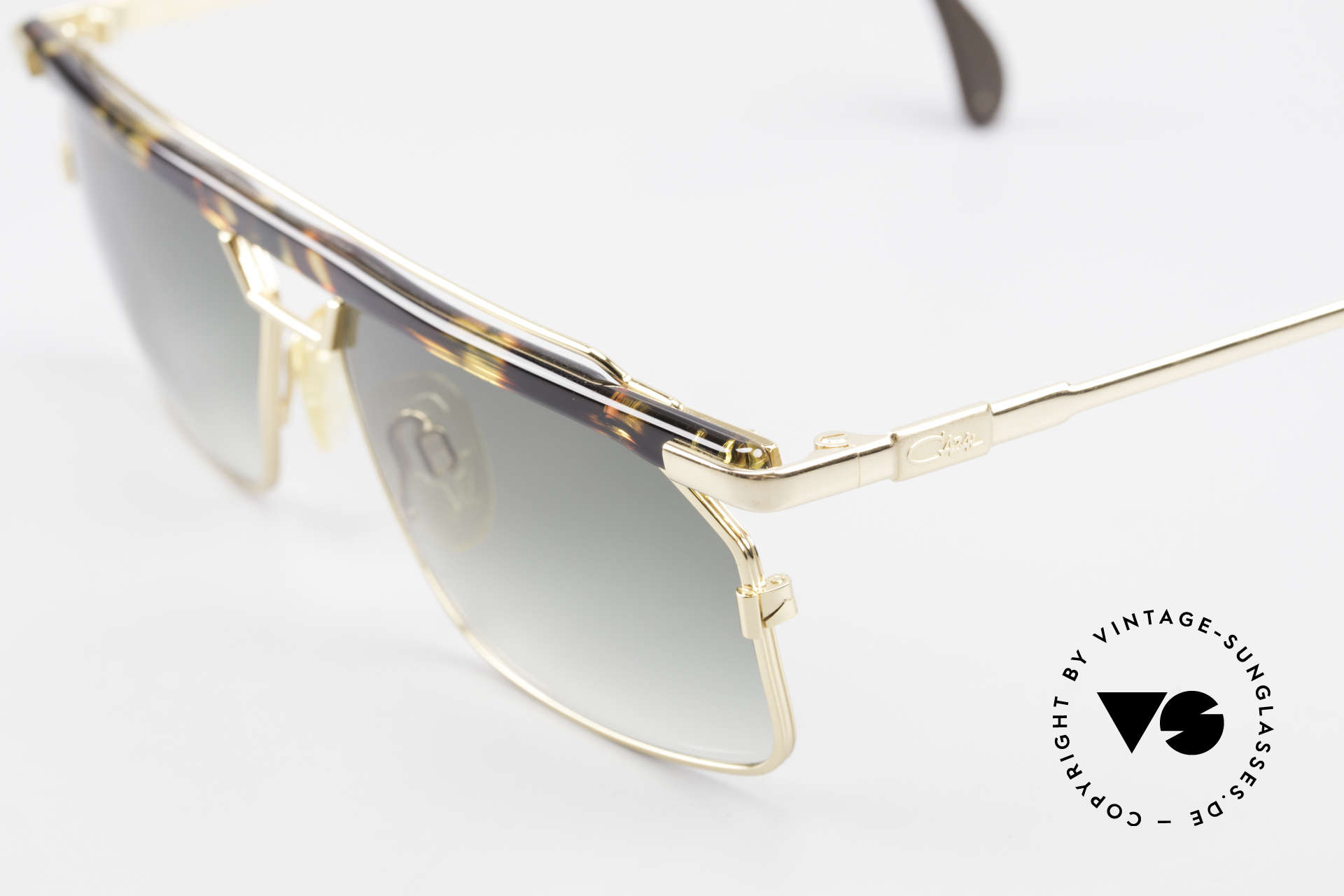Cazal 752 Extraordinary Sunglasses 90's, great metalwork and overall craftmanship; Top!, Made for Men