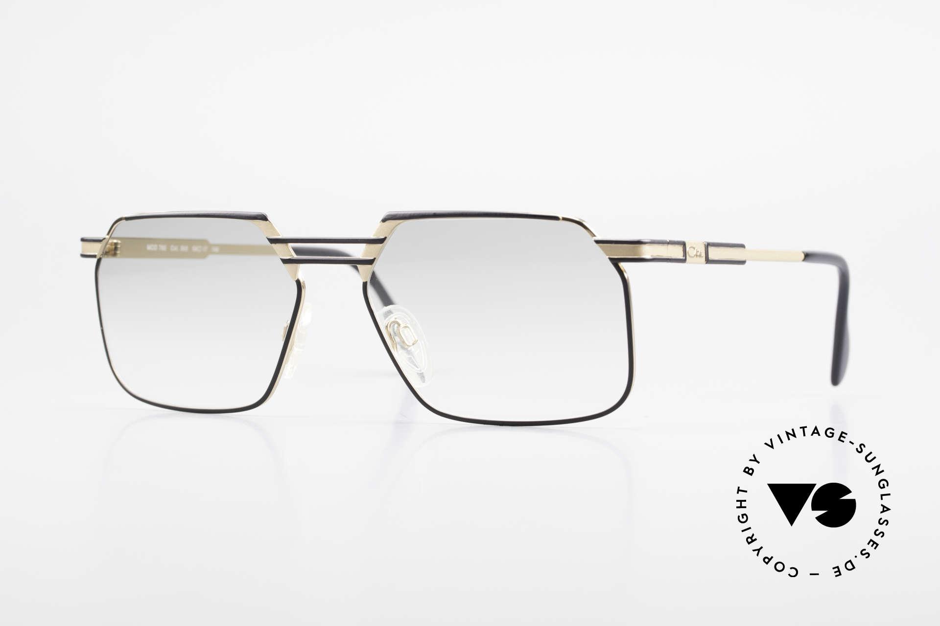 Cazal 760 Striking Vintage Men's Frame, expressive Cazal glasses for men from 1993/94, Made for Men