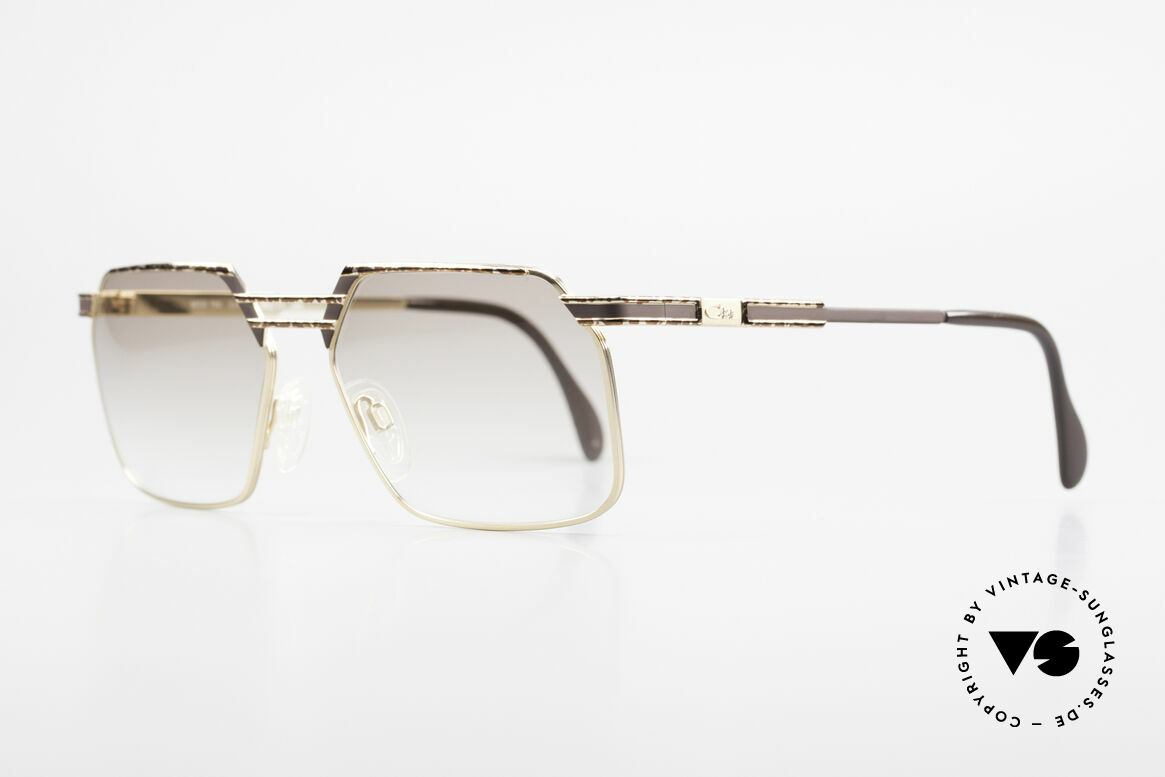 Cazal 760 90's Vintage Men's Sunglasses, stable metal frame with very elegant coloring, Made for Men