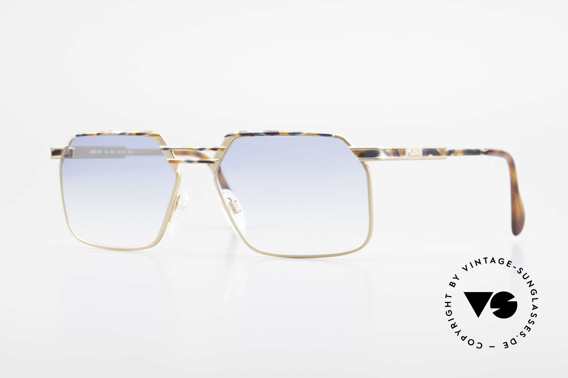 Cazal 760 True Vintage Men's Sunglasses, expressive Cazal shades for men from 1993/94, Made for Men