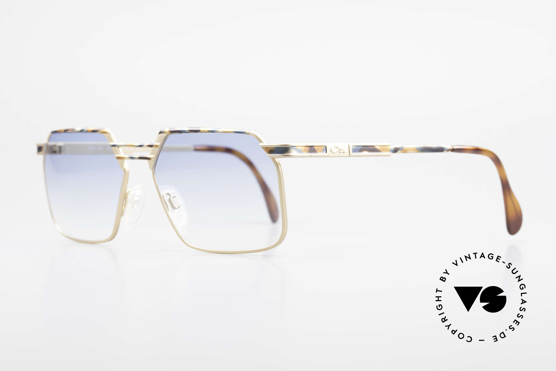 Cazal 760 True Vintage Men's Sunglasses, stable metal frame with very elegant coloring, Made for Men