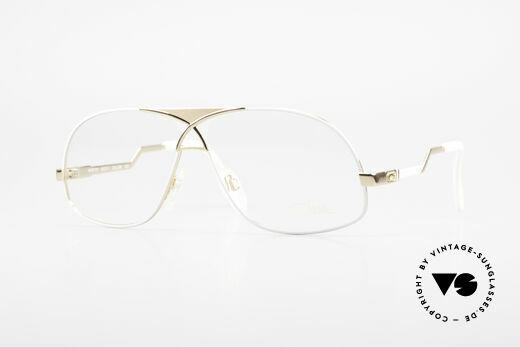Cazal 737 80's Vintage Men's Eyeglasses Details