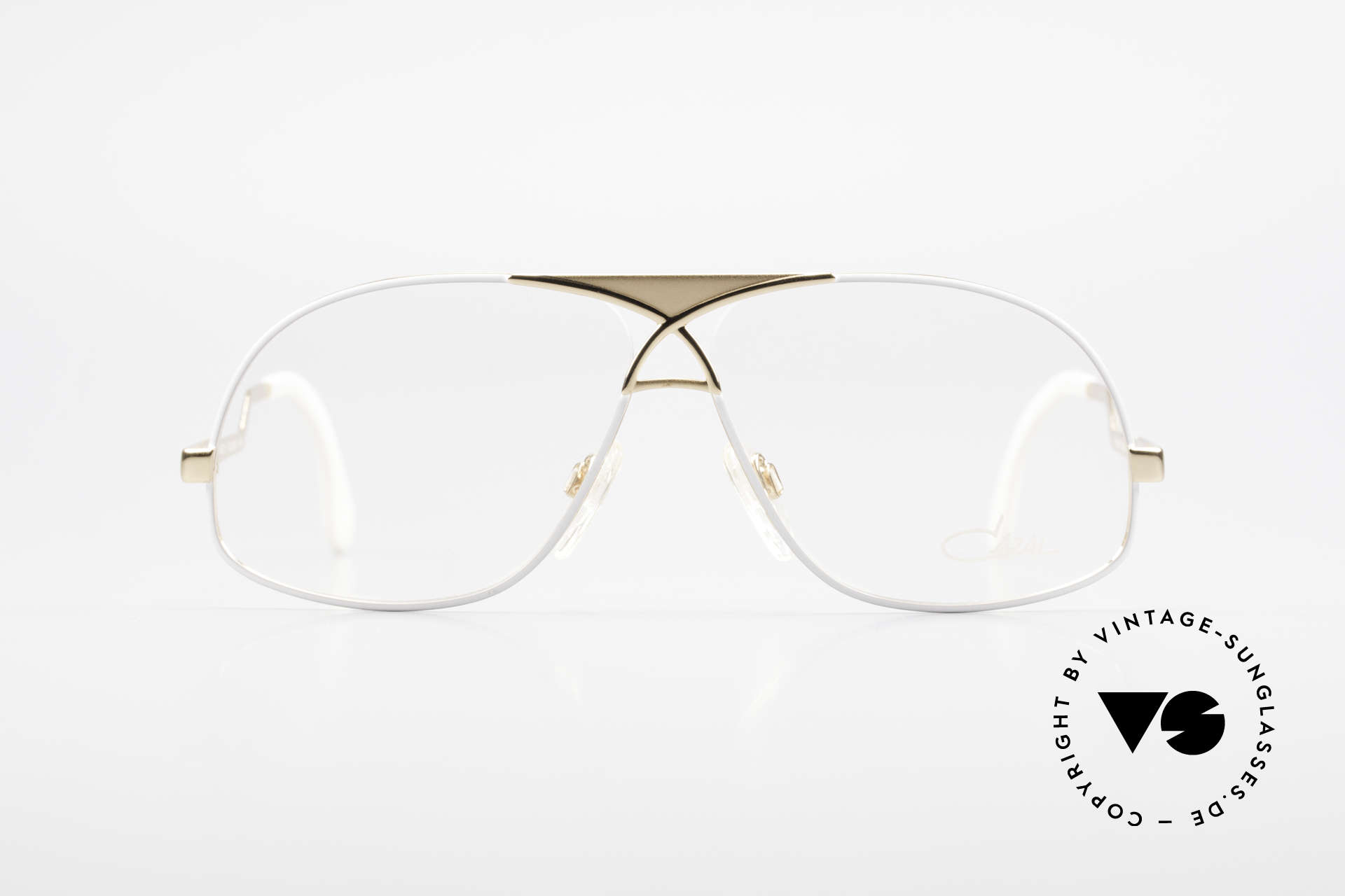 Cazal 737 80's Vintage Men's Eyeglasses, aviator style interpreted by CAri ZALloni (CAZAL), Made for Men