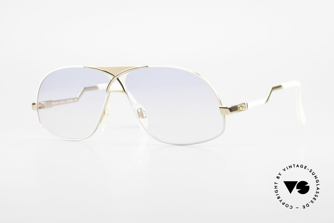 Cazal 737 80s Vintage Aviator Sunglasses, rare VINTAGE Cazal sunglasses of the late 1980's, Made for Men