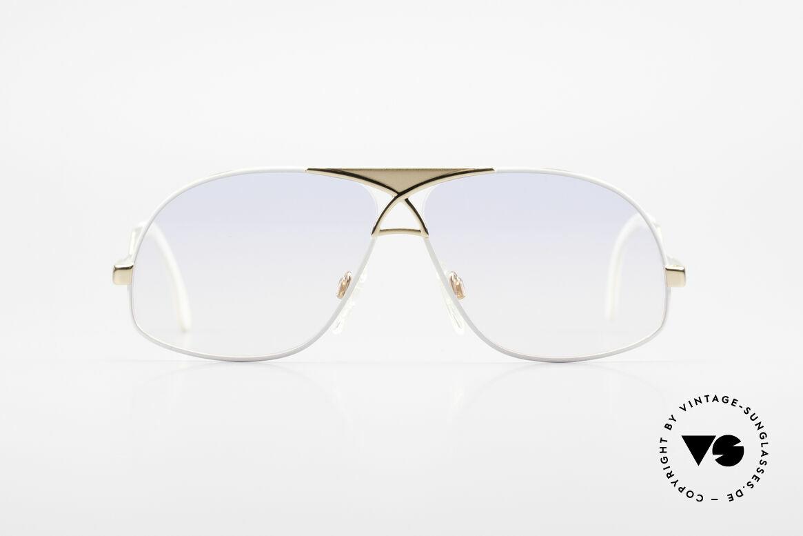 Cazal 737 80s Vintage Aviator Sunglasses, aviator style interpreted by CAri ZALloni (CAZAL), Made for Men
