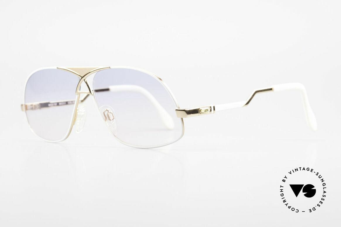 Cazal 737 80s Vintage Aviator Sunglasses, men's designer sunglasses from 1988 (W.Germany), Made for Men