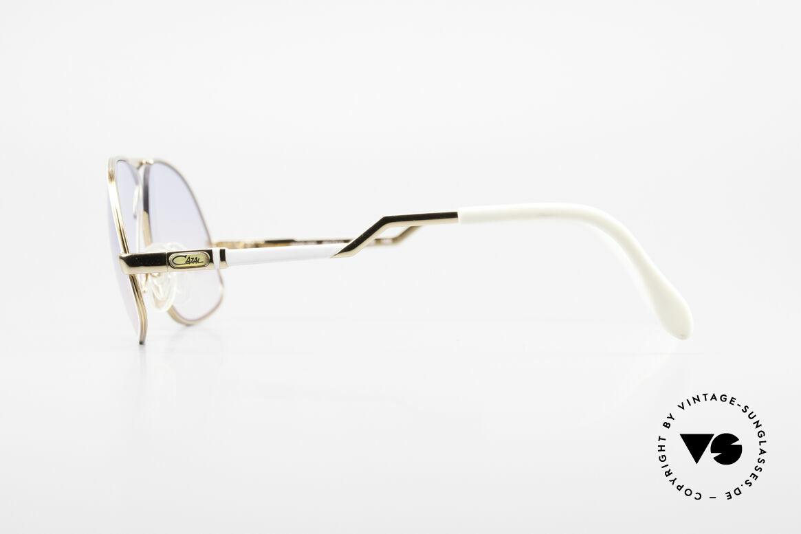 Cazal 737 80s Vintage Aviator Sunglasses, unworn (like all our rare vintage CAZAL eyewear), Made for Men
