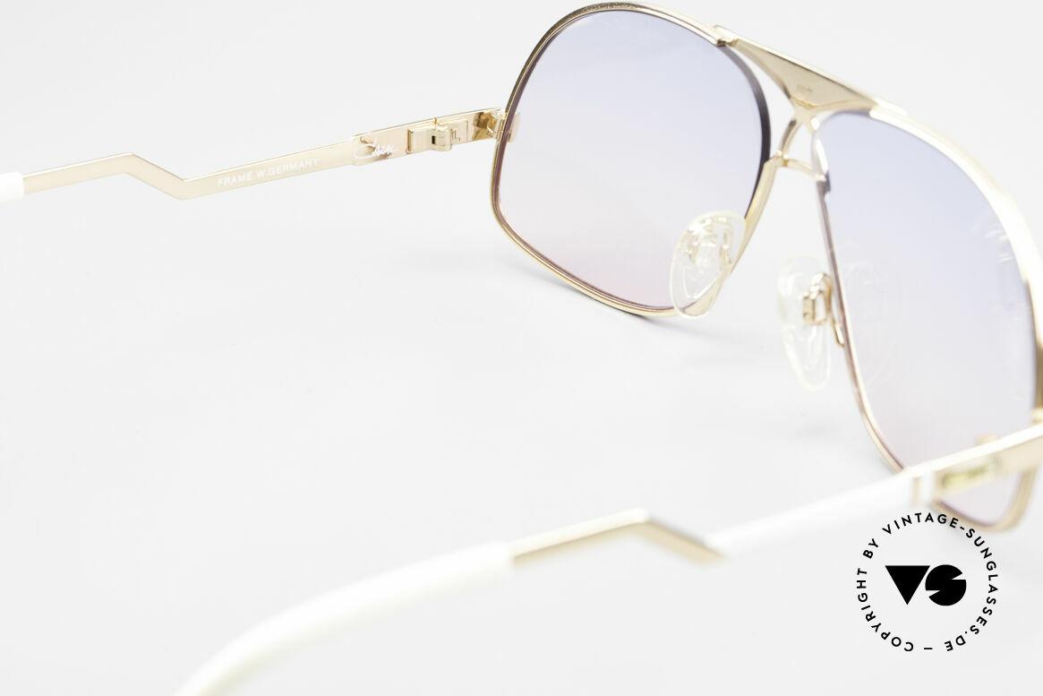 Cazal 737 80s Vintage Aviator Sunglasses, Size: medium, Made for Men