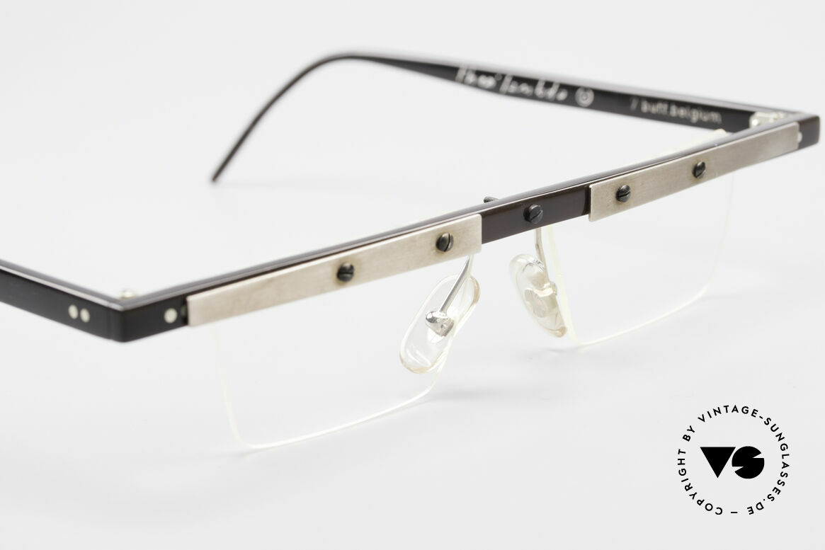 Theo Belgium Lambeta 7 Genuine Buffalo Horn Frame, never worn, one of a kind; Theo frame for all who dare!, Made for Men