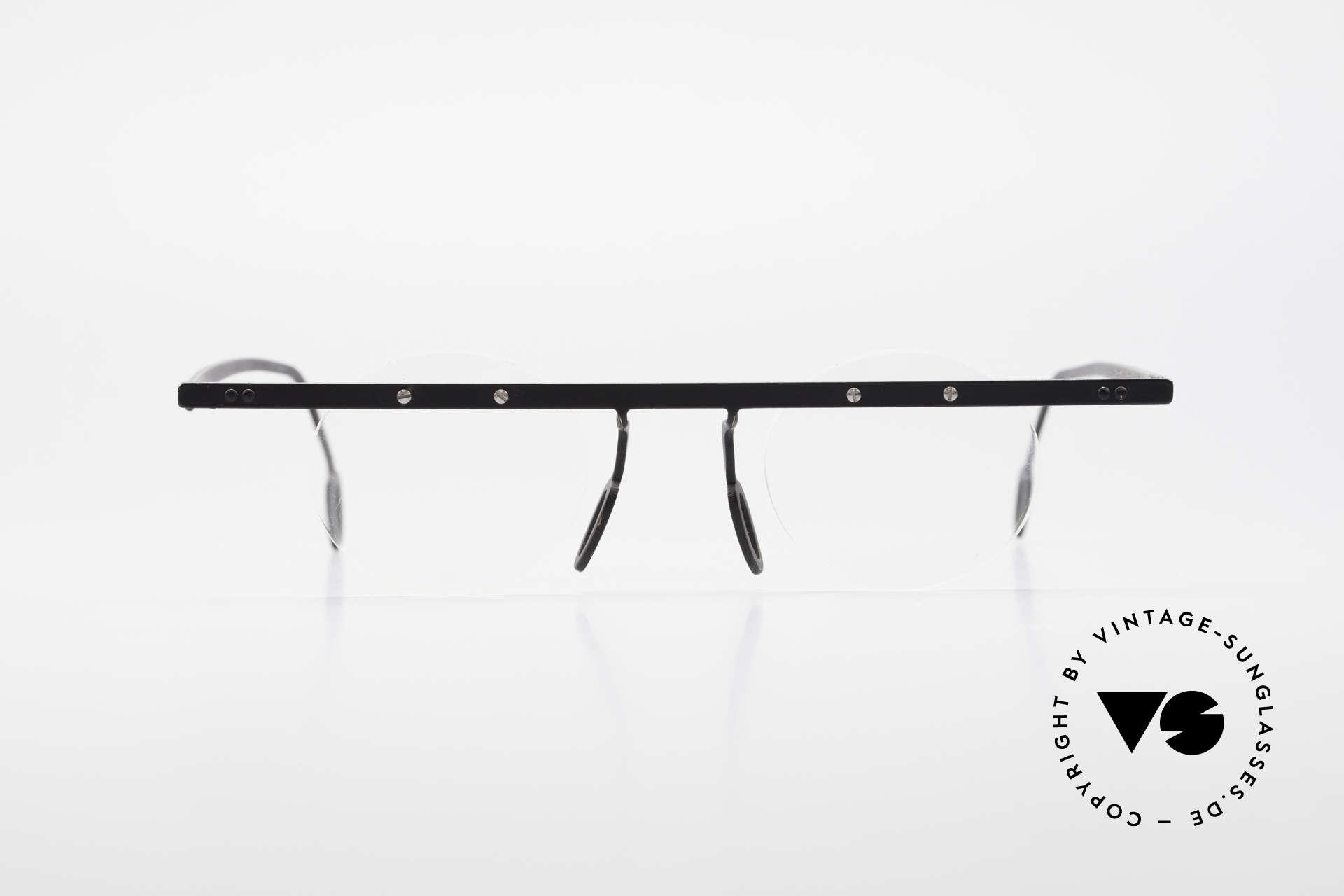 Theo Belgium Tita VII 11 Vintage Titanium Eyeglasses, founded in 1989 as 'anti mainstream' eyewear / glasses, Made for Men and Women