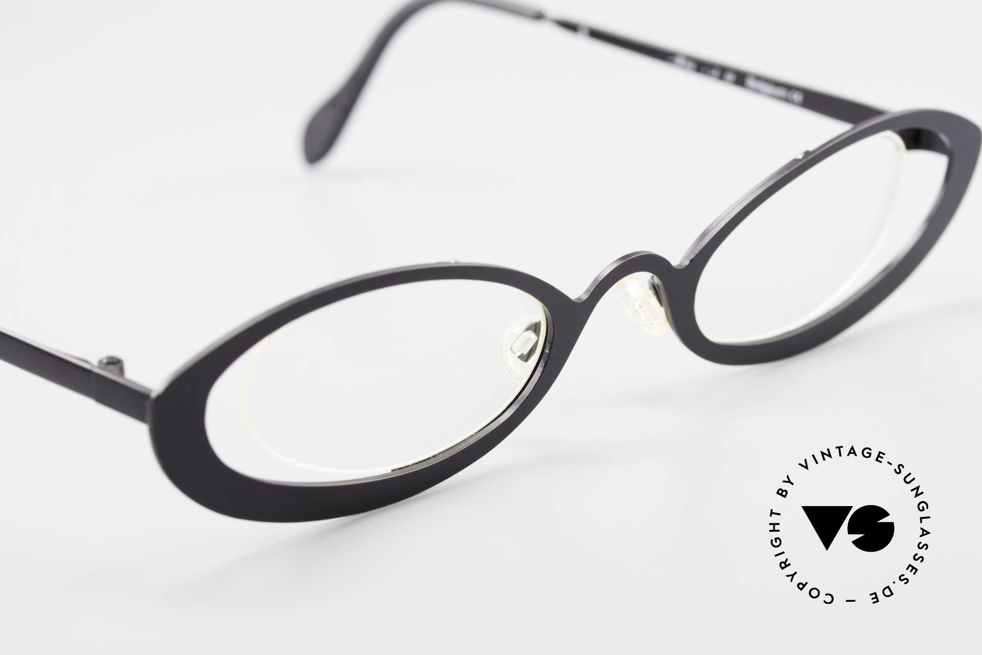 Theo Belgium RaRa Rimless 90's Cateye Glasses, unworn, one of a kind, Theo specs for all who dare ;), Made for Women