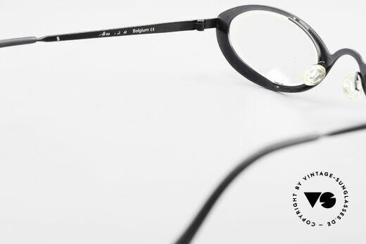 Theo Belgium RaRa Rimless 90's Cateye Glasses, NO RETRO frame; but a rare 20 years old ORIGINAL, Made for Women
