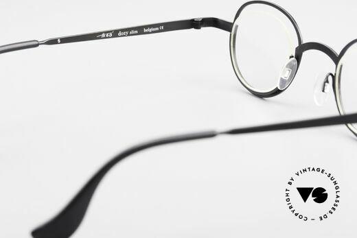 Theo Belgium Dozy Slim Rimless 90's Metal Eyeglasses, NO RETRO frame; but a rare 20 years old ORIGINAL, Made for Men and Women
