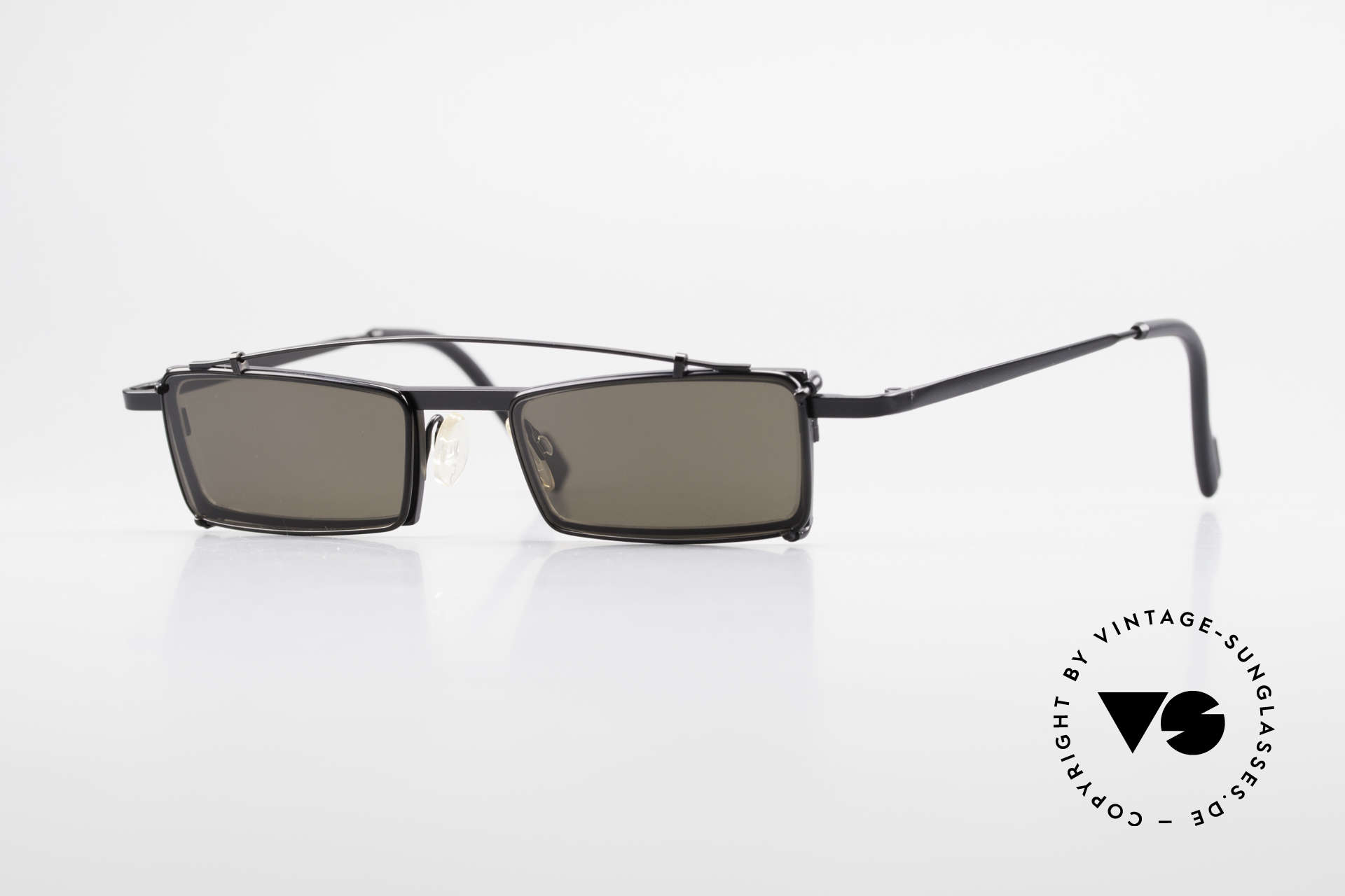 Theo Belgium XM Square Designer Frame Clip On, Theo Belgium: the most self-willed brand in the world, Made for Men