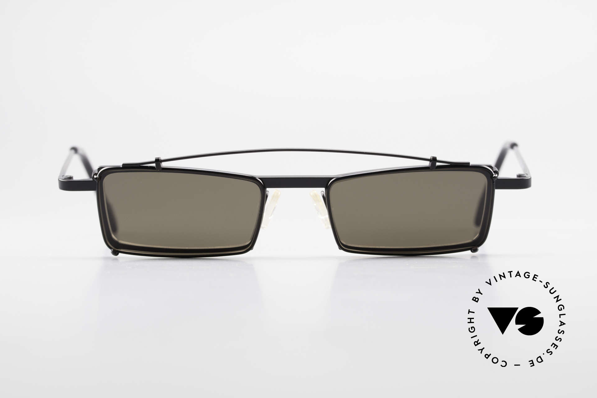 Theo Belgium XM Square Designer Frame Clip On, founded in 1989 as 'opposite pole' to the 'mainstream', Made for Men