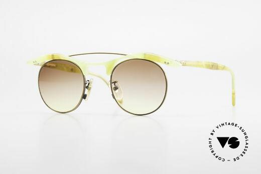 L.A. Eyeworks YANG 670 Vintage Frame No Retro Specs Details