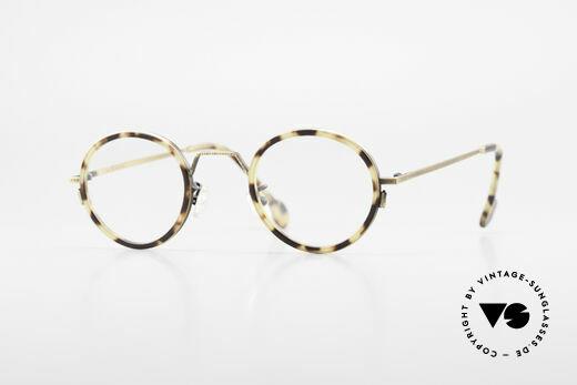 L.A. Eyeworks JO HENRY 442 Round Vintage 90's Eyeglasses Details