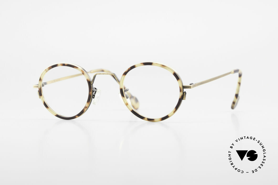 L.A. Eyeworks JO HENRY 442 Round Vintage 90's Eyeglasses, L.A. Eyeworks = invigorating designs (free-spirited), Made for Men and Women