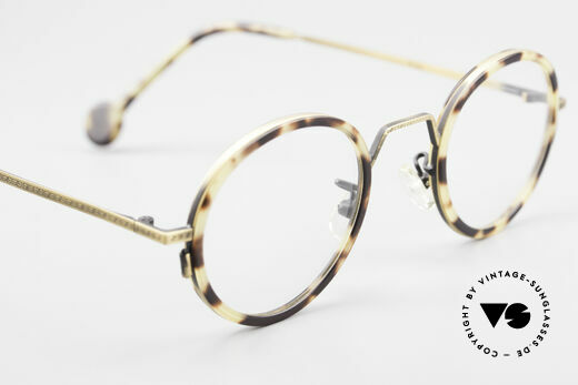 L.A. Eyeworks JO HENRY 442 Round Vintage 90's Eyeglasses, NO retro fashion; a rare old original of the mid 90's, Made for Men and Women