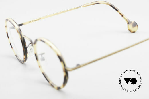 L.A. Eyeworks JO HENRY 442 Round Vintage 90's Eyeglasses, Size: small, Made for Men and Women