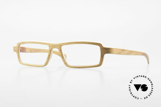 Rolf Spectacles Fulvia 03 Pure Wood Frame The Original Details