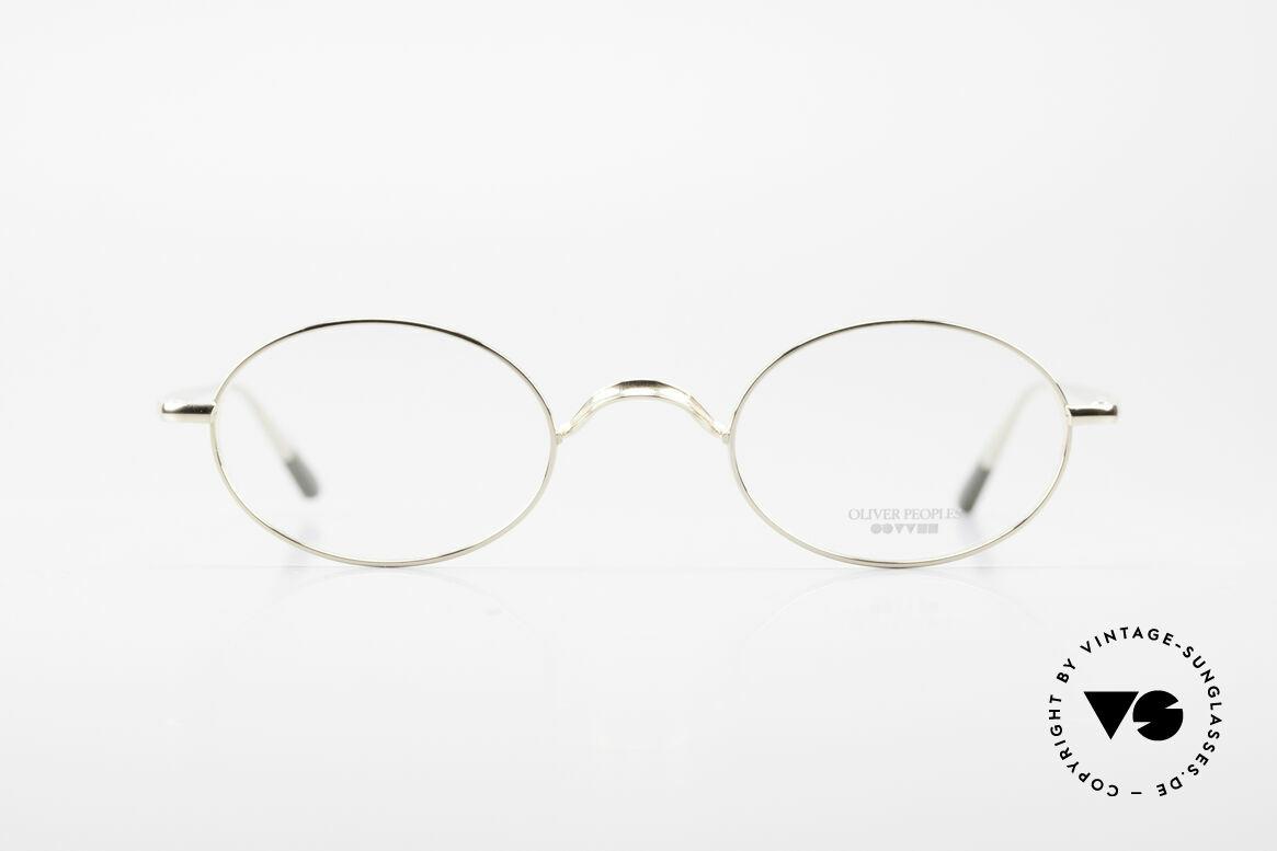 Oliver Peoples Gallagher Vintage Glasses Oval Round