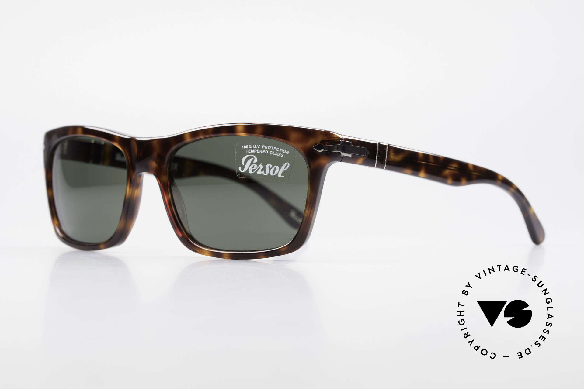 Persol 3062 Classic Unisex Sunglasses, with Persol mineral lenses; 100% UV protection, Made for Men and Women