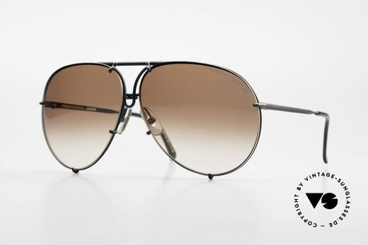 Porsche 5623 True 80's Aviator Sunglasses Details