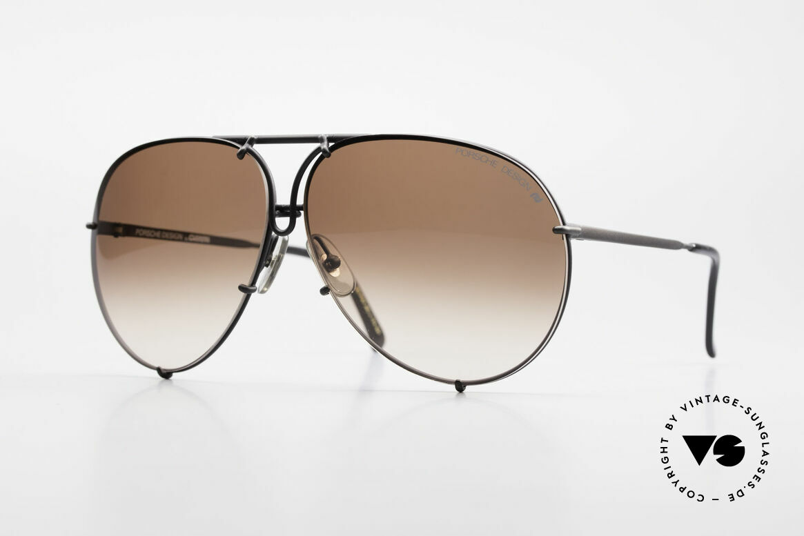 Porsche 5623 True 80's Aviator Sunglasses, vintage Porsche Design by Carrera shades from 1987, Made for Men and Women