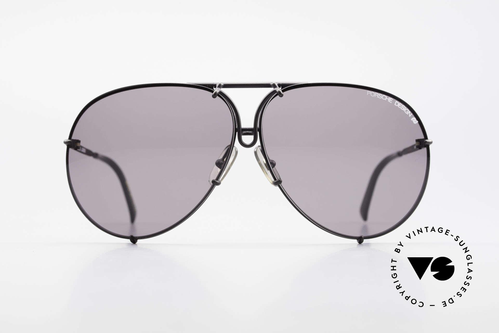 Porsche 5623 True 80's Aviator Sunglasses, unworn rarity incl. orig. PORSCHE DESIGN hard case, Made for Men and Women