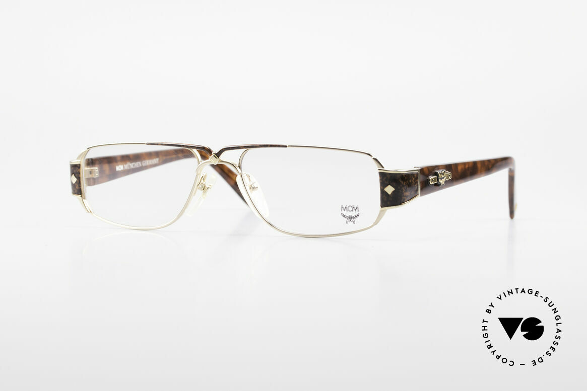 MCM München 7 80's Luxury Reading Glasses, luxury reading glasses by MCM from the 80's, Made for Men and Women