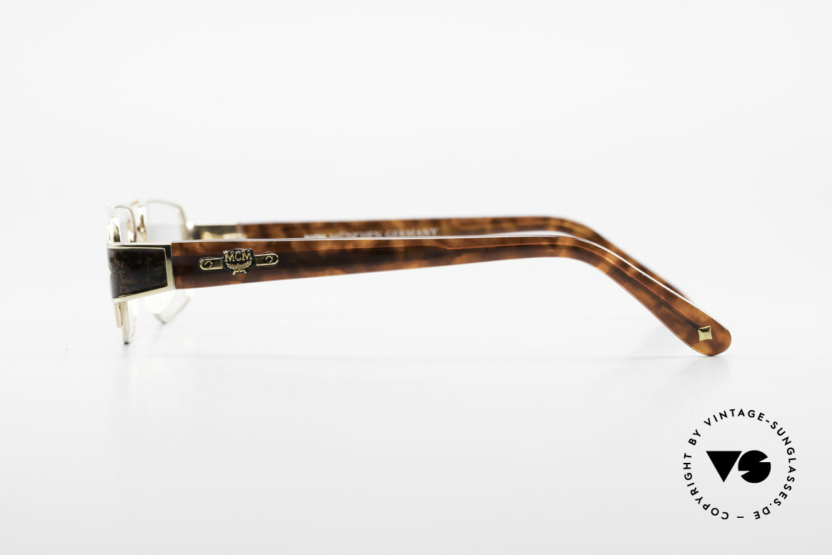 MCM München 7 80's Luxury Reading Glasses, costly designer piece (premium craftsmanship), Made for Men and Women