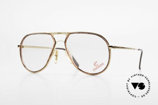 Carrera 5371 Rare Vintage 80's Eyeglasses Details
