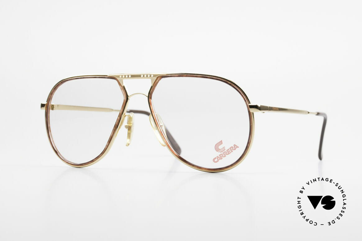 Carrera 5371 Rare Vintage 80's Eyeglasses, noble Carrera vintage eyeglasses from the 80's, Made for Men