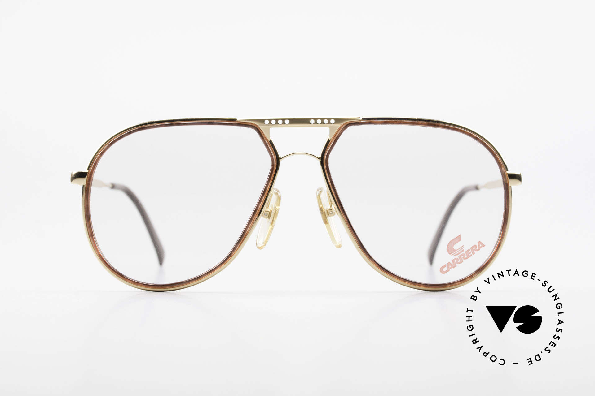 Carrera 5371 Rare Vintage 80's Eyeglasses, sober elegance in styling, coloring and design, Made for Men