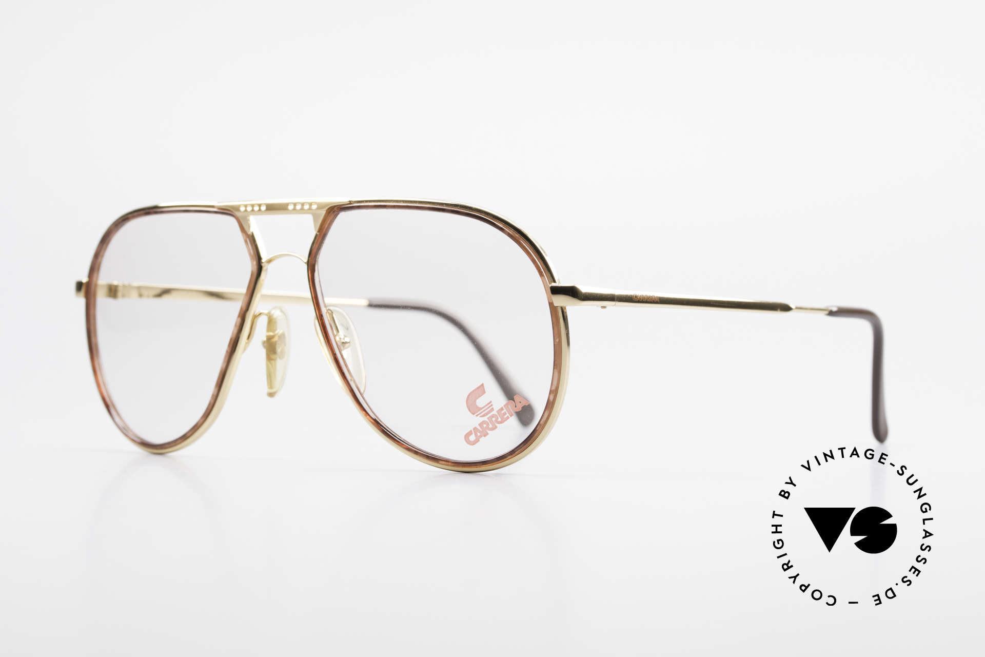 Carrera 5371 Rare Vintage 80's Eyeglasses, true 'gentleman glasses' in top craftsmanship, Made for Men