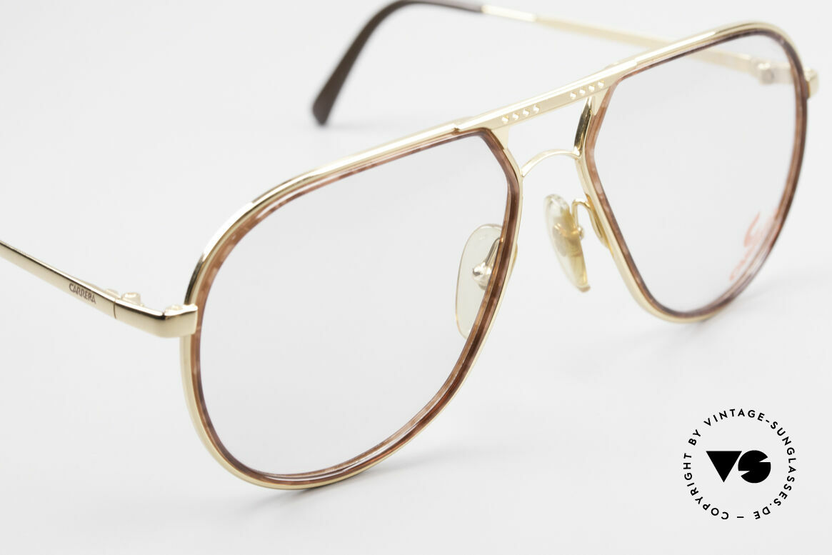 Carrera 5371 Rare Vintage 80's Eyeglasses, the frame can be glazed with lenses of any kind, Made for Men