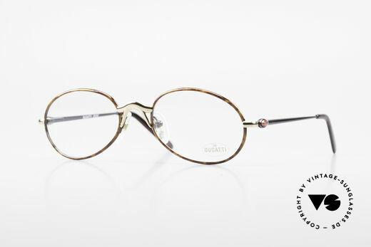 Bugatti 22157 Rare Oval 90's Vintage Specs Details