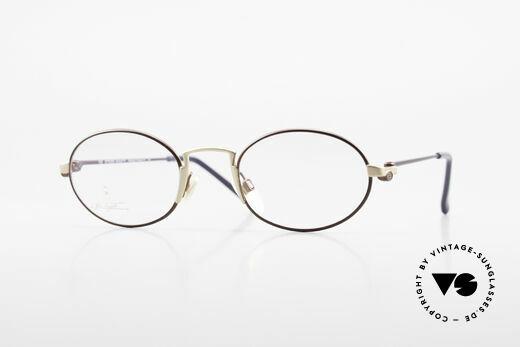 Bugatti EB601 Oval Luxury Eyeglasses Small Details